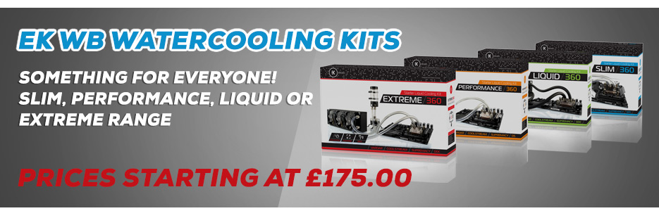 EK Watercooling Kits