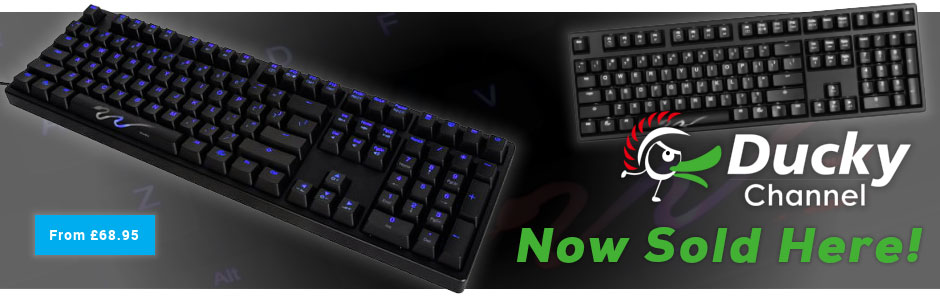 Ducky Gaming Keyboards
